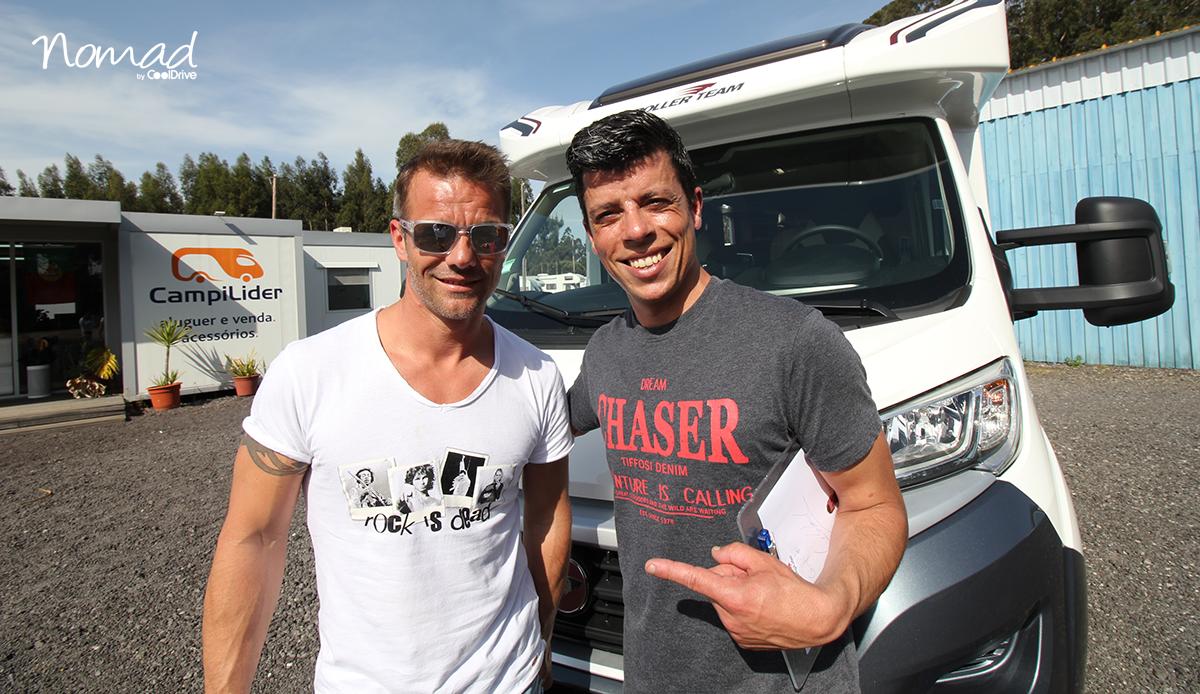 Sébastien Loeb loue un camping-car à CoolDrive Nomad pour sillonner le Portugal